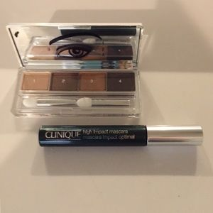 Clinique Eyeshadow Quad & High Impact Mascara